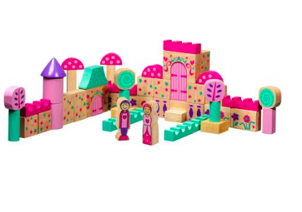 Lanka Kade Wooden Building Blocks - Fairytale